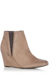Oasis Elastic Wedge Boot Neutral