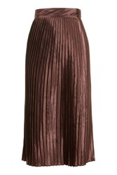 Glamorous Pleated Midi Skirt By Tall Copper