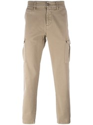 7 For All Mankind 'Cargo Wash' Trousers Nude Neutrals