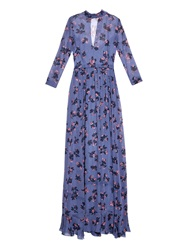Rebecca Taylor Alyssem Floral Maxi Dress