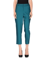 N_8 Trousers Casual Trousers Women Emerald Green