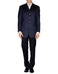 Tiziano Reali Suits Dark Blue