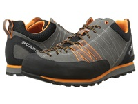 Scarpa Crux Grey Orange Men's Shoes Gray