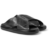 Marsell Leather Sandals Black