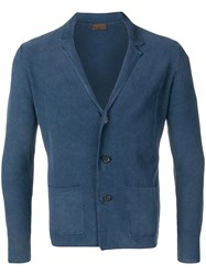 Altea Fitted Cardigan Blue