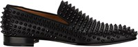 Christian Louboutin Spiked Dandelion Loafers Black