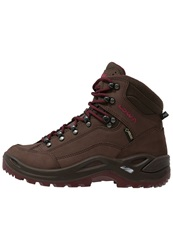 Lowa Renegade Gtx Mid Walking Boots Espresso Beere Dark Brown