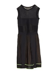 Versace Multi Knit Sleeveless Dress