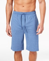 32 Degrees Men's Knit Pajama Shorts Royal Blue