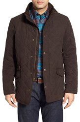 Men's Nordstrom Men's Shop Quilted Faux Suede Jacket