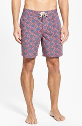 Men's Faherty Recycled Fabric Print Board Shorts
