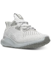 Adidas Women's Alphabounce Running Sneakers From Finish Line Clear Grey Clear Onix