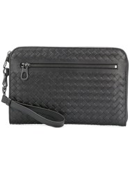 Bottega Veneta Tourmaline Intrecciato Document Case Brown