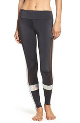Onzie Women's 'Power' Colorblock Leggings Black Mermaid