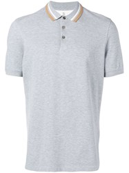 Brunello Cucinelli Classic Polo Shirt Grey