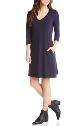 Karen Kane Quinn Pocket Dress Navy