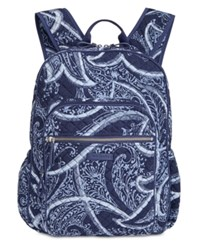 Vera Bradley Campus Tech Backpack Indio Silver