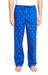 Ralph Lauren Men's Polo Cotton Lounge Pants Sapphire Star Gold Doubloon