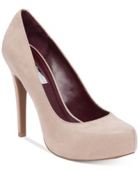 Bcbgeneration Parade Platform Pumps Women's Shoes Pumice