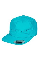 Quiksilver 'S Spaced Out Baseball Cap Blue Green Eggshell Blue