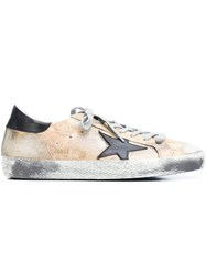 Golden Goose Deluxe Brand 'Super Star' Sneakers Yellow And Orange