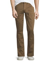 Paige Dylan Twill Cargo Pants Rustic Tan