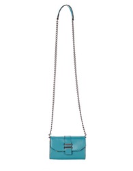 Dolce Vita Juliet Leather Phone Crossbody Bag Peacock