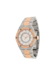 Roberto Cavalli Screw Face Watch Silver