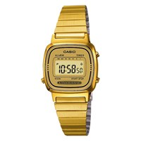 Casio La670wega 9Ef Women's Core Digital Alarm Chronograph Bracelet Strap Watch Gold
