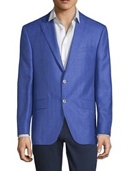 Jack Victor Conway Notch Lapel Jacket Blue