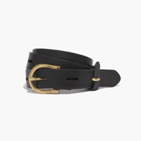 Madewell Backcountry Belt True Black