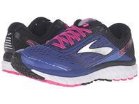Brooks Ghost 9 Clematis Blue Black Pink Glow Women's Running Shoes