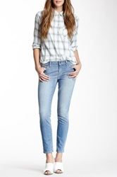 Rich And Skinny Relaxed Cropped Skinny Jean Blue