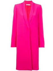 Alice Olivia Single Breasted Coat Pink
