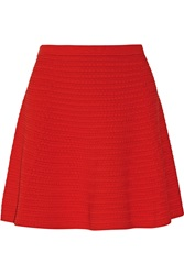 Theory Rortie Textured Stretch Knit Mini Skirt