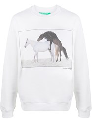 United Colors Of Benetton Printed Sweatshirt 60