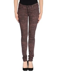 Dr. Denim Jeansmakers Casual Pants Cocoa