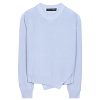 Proenza Schouler Cotton And Cashmere Sweater Lavender