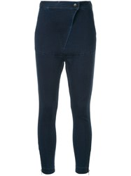 Manning Cartell Edition Slouch Trousers Blue