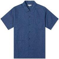 Engineered Garments Camp Shirt Blue