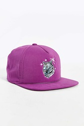 Coal The Lore Tiger Snapback Hat Purple