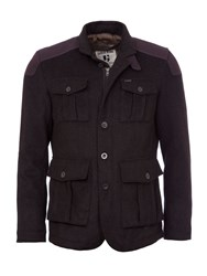 Garcia Men's Tailored Field Jacket Black