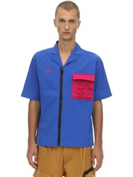 Nike Nrg Acg Nylon Blend Shirt Game Royal