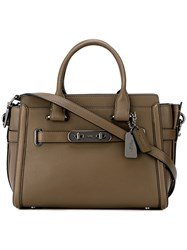 Coach Classic Satchel Brown