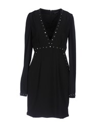 Flavio Castellani Short Dresses Black