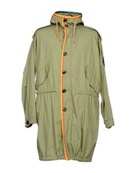 Marc Jacobs Overcoats Military Green