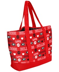 Forever Collectibles Georgia Bulldogs Tote Bag Red