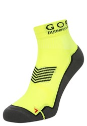 Gore Running Wear Essential Sports Socks Neon Yellow