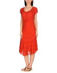 Jean Paul Gaultier Soleil Cover Ups Red