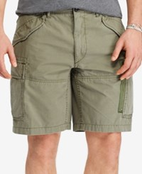 Polo Ralph Lauren Men's Big And Tall Cargo Shorts White